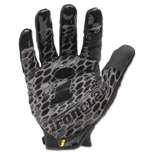 Ironclad Box Handler Gloves  Black  Medium  Pair (IRNBHG03M)