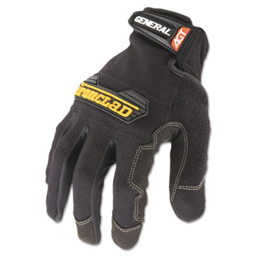 Ironclad General Utility Spandex Gloves  Black  Medium  Pair (IRNGUG03M)