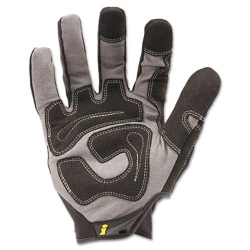 Ironclad General Utility Spandex Gloves  Black  X-Large  Pair (IRNGUG05XL)