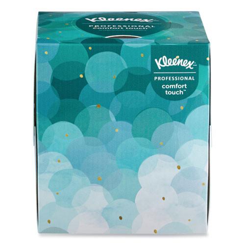 Kleenex Boutique White Facial Tissue  2-Ply  Pop-Up Box  95 Sheets Box  36 Boxes Carton (KCC21270CT)