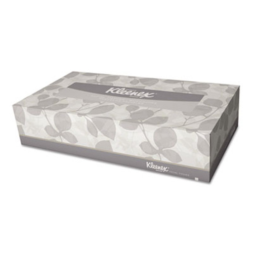 Kleenex White Facial Tissue, 2-Ply, Pop-Up Box, 100/Box (KCC21400BX)