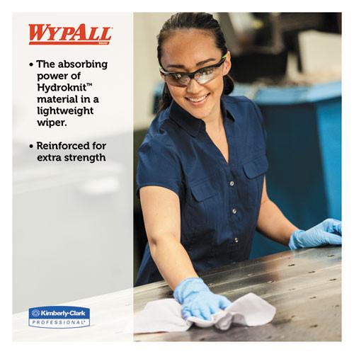 WypAll X60 Cloths  POP-UP Box  White  9 1 8 x 16 7 8  126 Box  10 Boxes Carton (KCC34790CT)