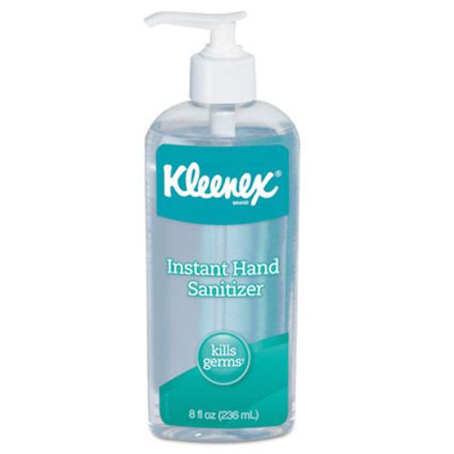 Kleenex Instant Hand Sanitizer, 8 oz, Pump Bottle, Sweet Citrus (KCC93060EA)
