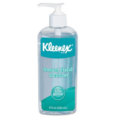 Kleenex Instant Hand Sanitizer  8 oz  Pump Bottle  Sweet Citrus (KCC93060EA)