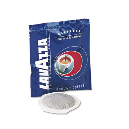 Lavazza Gran Espresso Pods  Medium Roast  150 Carton (LAV4483)