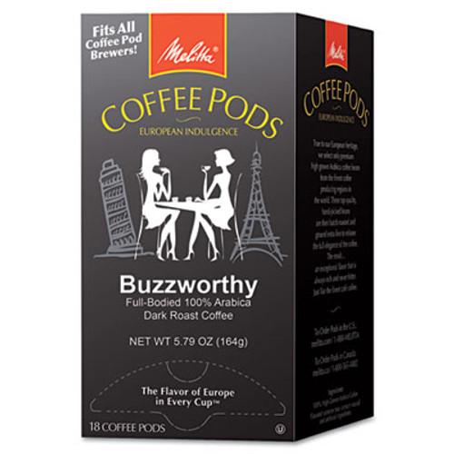 Melitta Coffee Pods  Buzzworthy  Dark Roast   18 Pods Box (MLA75412)
