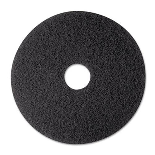 "3M Low-Speed Stripper Floor Pad 7200, 12"", Black, 5/Carton (MMM08374)"