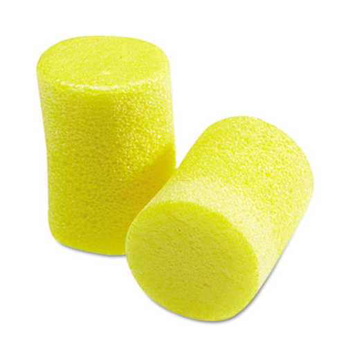3M E·A·R Classic Earplugs, Pillow Paks, Uncorded, Foam, Yellow, 30 Pairs (MMM3101060)