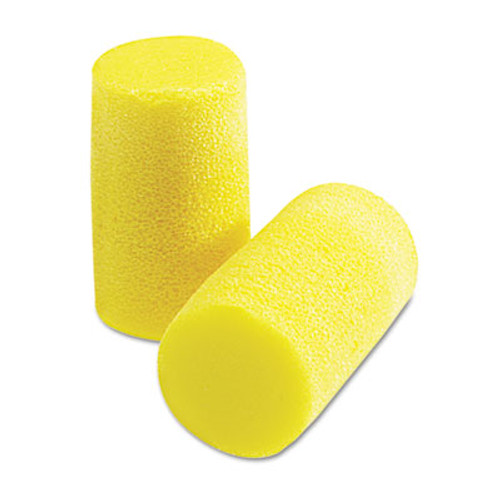 3M EA  AA  R Classic Plus Earplugs  PVC Foam  Yellow  200 Pairs (MMM3101101)