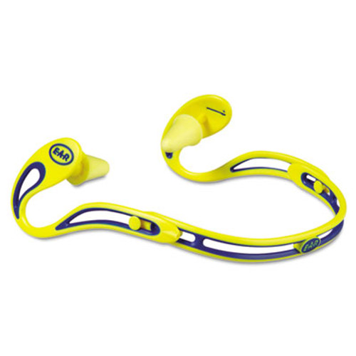 3M EA  AA  R Swerve Banded Hearing Protector  Corded  Yellow (MMM3222000)