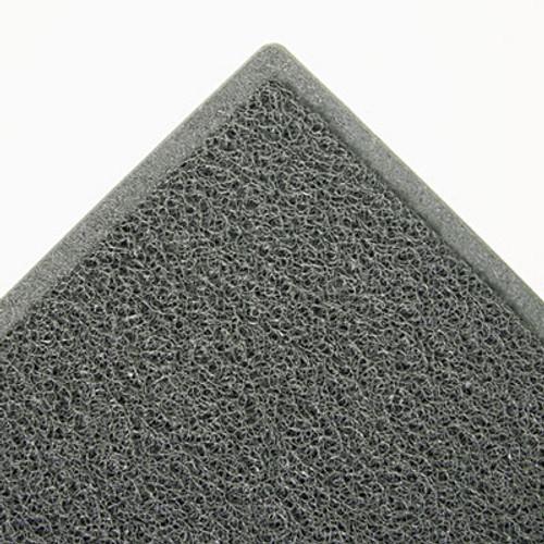3M Dirt Stop Scraper Mat, Polypropylene, 48 x 72, Slate Gray (MMM34843)