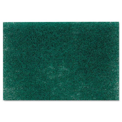 Scotch-Brite PROFESSIONAL Commercial Heavy-Duty Scouring Pad  Green  6 x 9  12 Pack (MMM86)