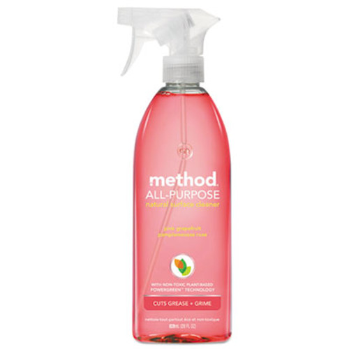 Method All-Purpose Cleaner, Pink Grapefruit, 28 oz Bottle (MTH00010)