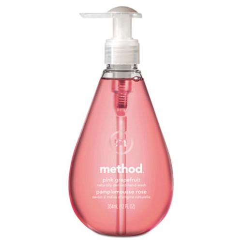 Method Gel Hand Wash, Pink Grapefruit, 12 oz Pump Bottle (MTH00039)
