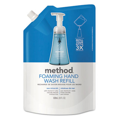 Method Foaming Hand Wash Refill, Sea Minerals, 28 oz Pouch (MTH00667)