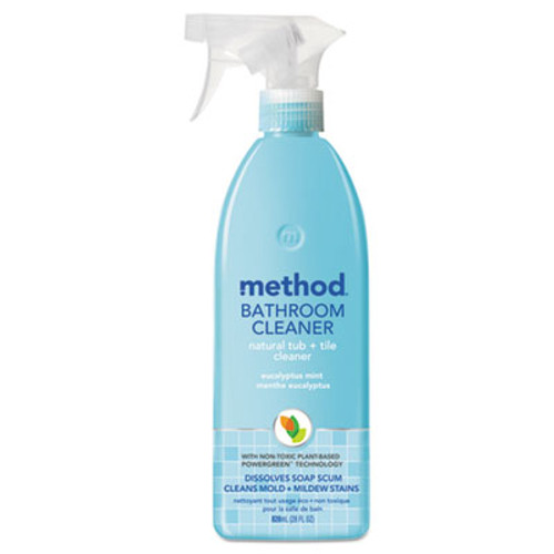Method Tub & Tile Bathroom, Eucalyptus Mint, 28 oz Bottle (MTH00008)