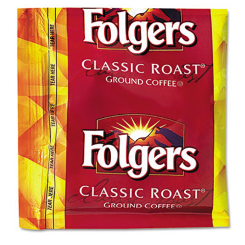 Folgers Coffee  Classic Roast  0 9 oz Fractional Packs  36 Carton (FOL06125)