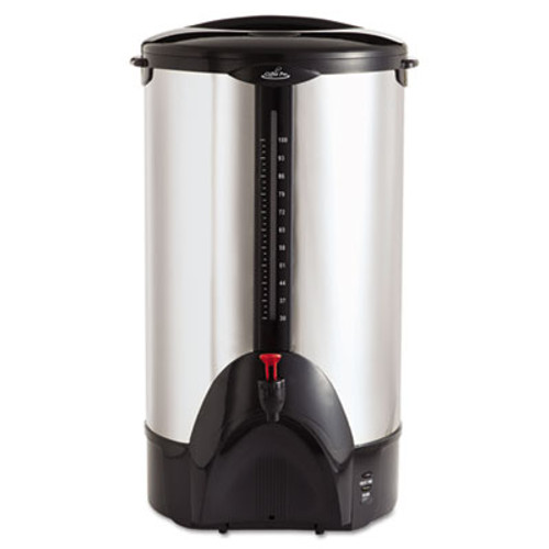 Coffee Pro 100-Cup Percolating Urn  Stainless Steel (OGFCP100)