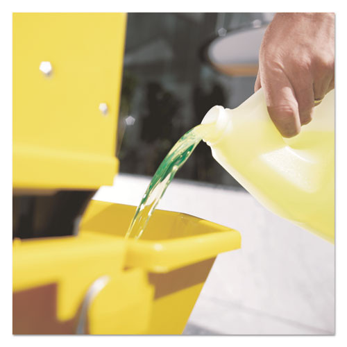 Mr. Clean Finished Floor Cleaner  Lemon Scent  One Gallon Bottle (PGC02621EA)