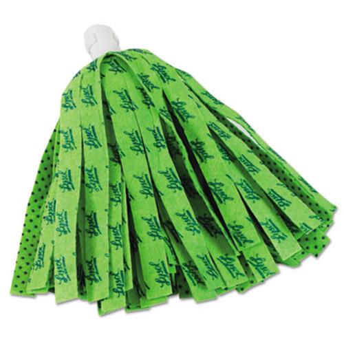 "LYSOL Brand Self Wringing Mop Head Refill, 11"", Green (QCK570911)"
