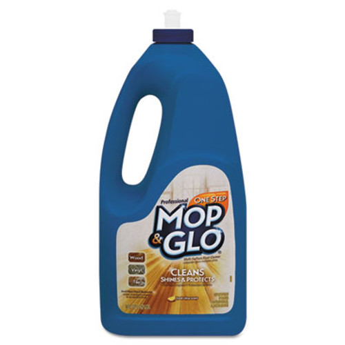 MOP & GLO Triple Action Floor Cleaner, Fresh Citrus Scent, 64oz Bottle (RAC74297EA)