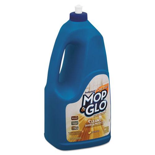 Professional MOP & GLO Triple Action Floor Shine Cleaner  Fresh Citrus Scent  64oz Bottle (RAC74297EA)