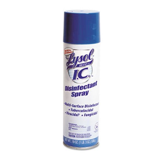 LYSOL Brand III I.C. Disinfectant Spray  19oz Aerosol (RAC95029EA)