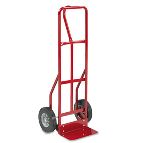 Safco Two-Wheel Steel Hand Truck  500 lb Capacity  18w x 47h  Red (SAF4084R)