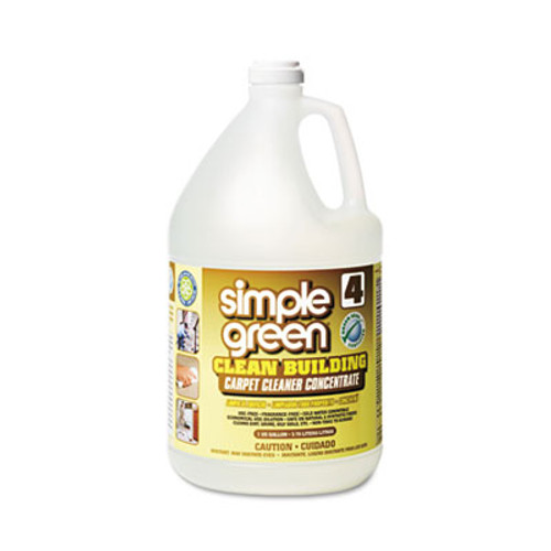 Simple Green Clean Building Carpet Cleaner Concentrate  Unscented  1gal Bottle (SMP11201)