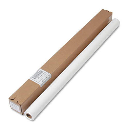 Tablemate Table Set Plastic Banquet Roll  Table Cover  40  x 100ft  White (TBLI4010WH)