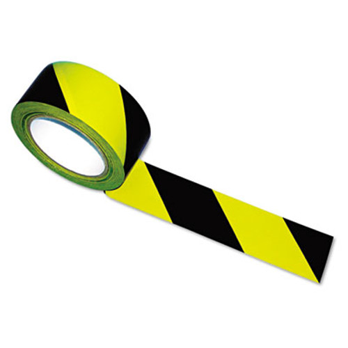Tatco Hazard Marking Aisle Tape, 2w x 108ft Roll (TCO14711)