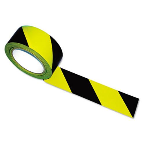 Tatco Hazard Marking Aisle Tape  2w x 108ft Roll (TCO14711)