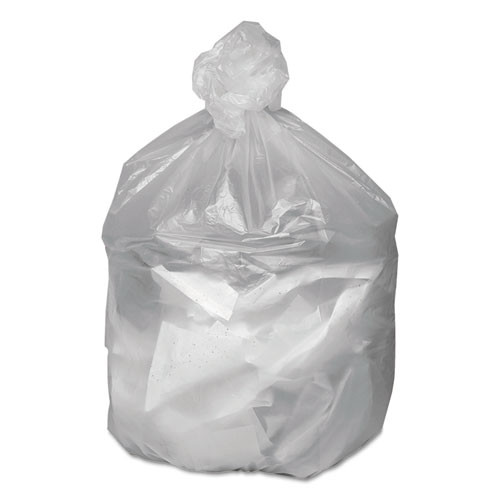 Good 'n Tuff Waste Can Liners  56 gal  14 microns  43  x 46   Natural  200 Carton (WBIGNT4348)