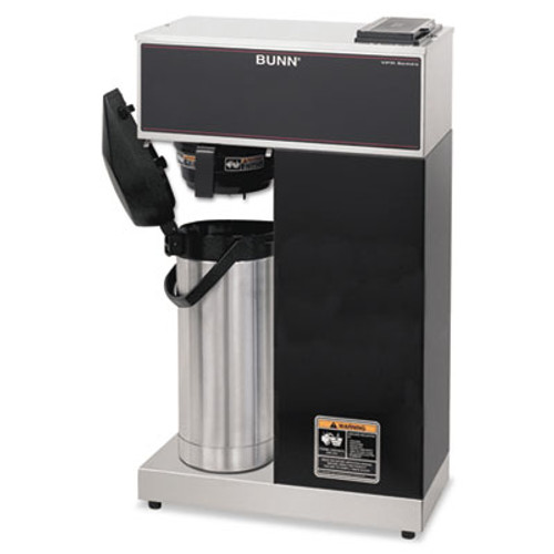 BUNN VPR-APS Pourover Thermal Coffee Brewer with 2 2L Airpot  Stainless Steel  Black (BUNVPRAPS)