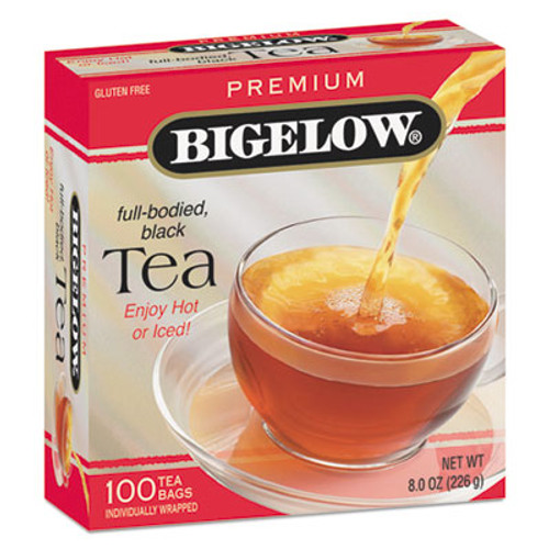 Bigelow Single Flavor Tea  Premium Ceylon  100 Bags Box (BTC00351)