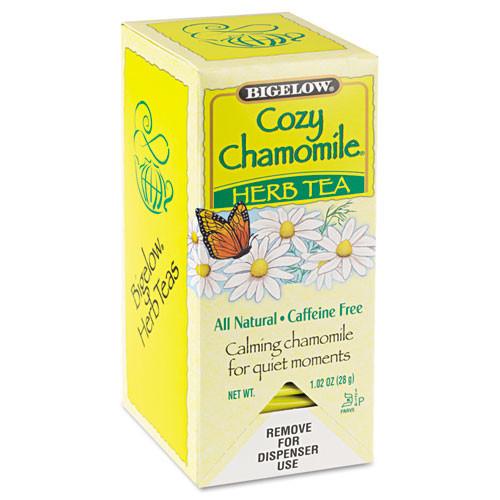 Bigelow Single Flavor Tea  Cozy Chamomile  28 Bags Box (BTC00401)