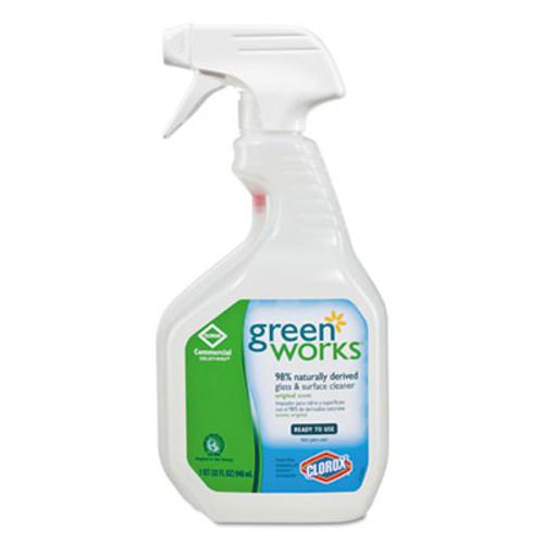 Green Works Glass   Surface Cleaner  Original  32oz Smart Tube Spray Bottle (CLO00459)