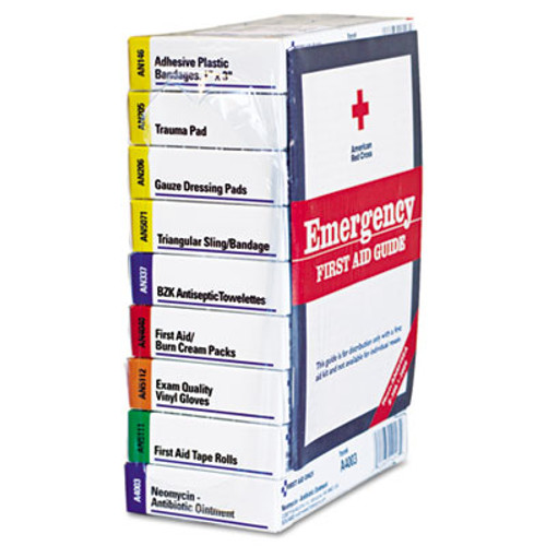 First Aid Only ANSI Compliant 10 Person First Aid Kit Refill  63-Pieces (FAO740010)