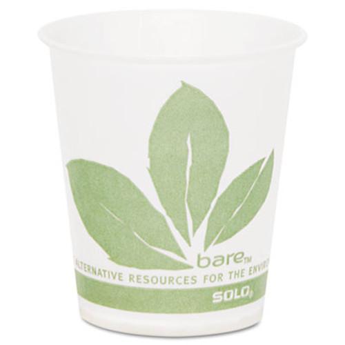 SOLO Cup Company Paper Cold Cup, Bare Design, 5oz, 3000/Carton (SCCR53BBJD110CT)