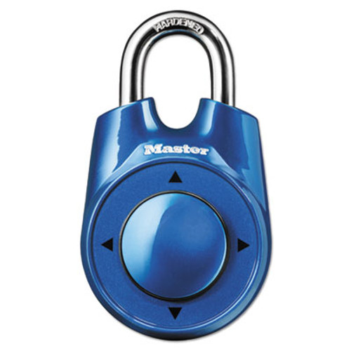 Master Lock Speed Dial Set-Your-Own Combination Lock  2  Wide  Assorted (MLK1500ID)