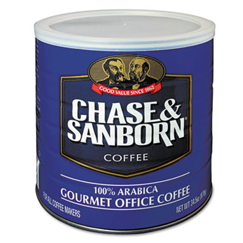 Chase & Sanborn Coffee  Regular  34 5oz Can (OFX33000)