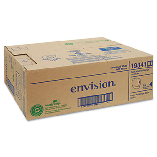 Georgia Pacific Professional Embossed Bathroom Tissue, 1-Ply. 40 Rolls/Carton (GPC1984101)