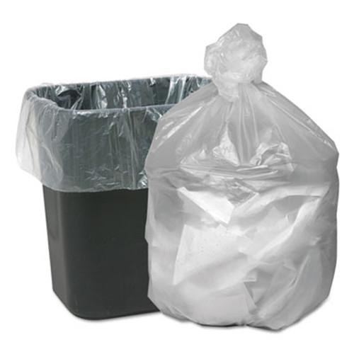 Good 'n Tuff Waste Can Liners  10 gal  6 microns  24  x 24   Natural  1 000 Carton (WBIGNT2424)