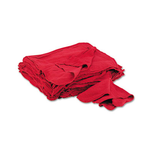 General Supply Red Shop Towels, Cloth, 14 x 15, 50/Pack (UFSN900RST)