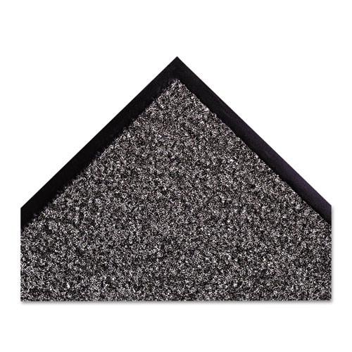 Crown Dust-Star Microfiber Wiper Mat  36 x 120  Charcoal (CWNDS0310CH)