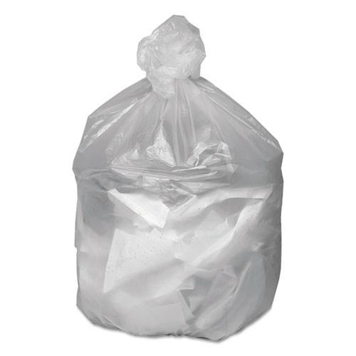Good 'n Tuff Waste Can Liners  16 gal  6 microns  24  x 31   Natural  1 000 Carton (WBIGNT2433)