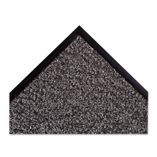 Crown Dust-Star Microfiber Wiper Mat  48 x 72  Charcoal (CWNDS0046CH)
