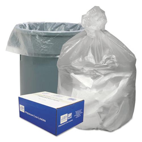 Good 'n Tuff Waste Can Liners  33 gal  9 microns  33  x 39   Natural  500 Carton (WBIGNT3340)
