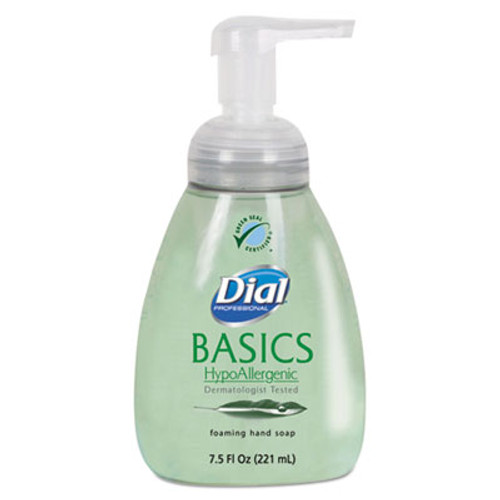 Dial Professional Basics Foaming Hand Soap, 7.5oz, Honeysuckle (DIA06042)