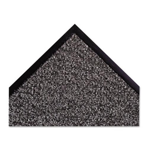 Crown Dust-Star Microfiber Wiper Mat  36 x 60  Charcoal (CWNDS0035CH)